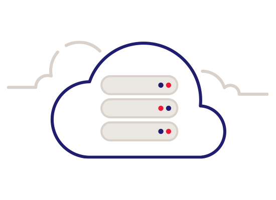 Servers floating in the cloud
